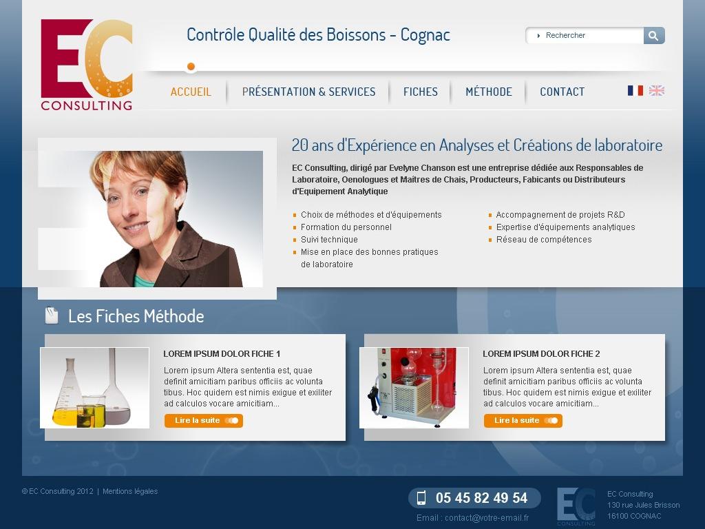 Création Site vitrine Jarnac