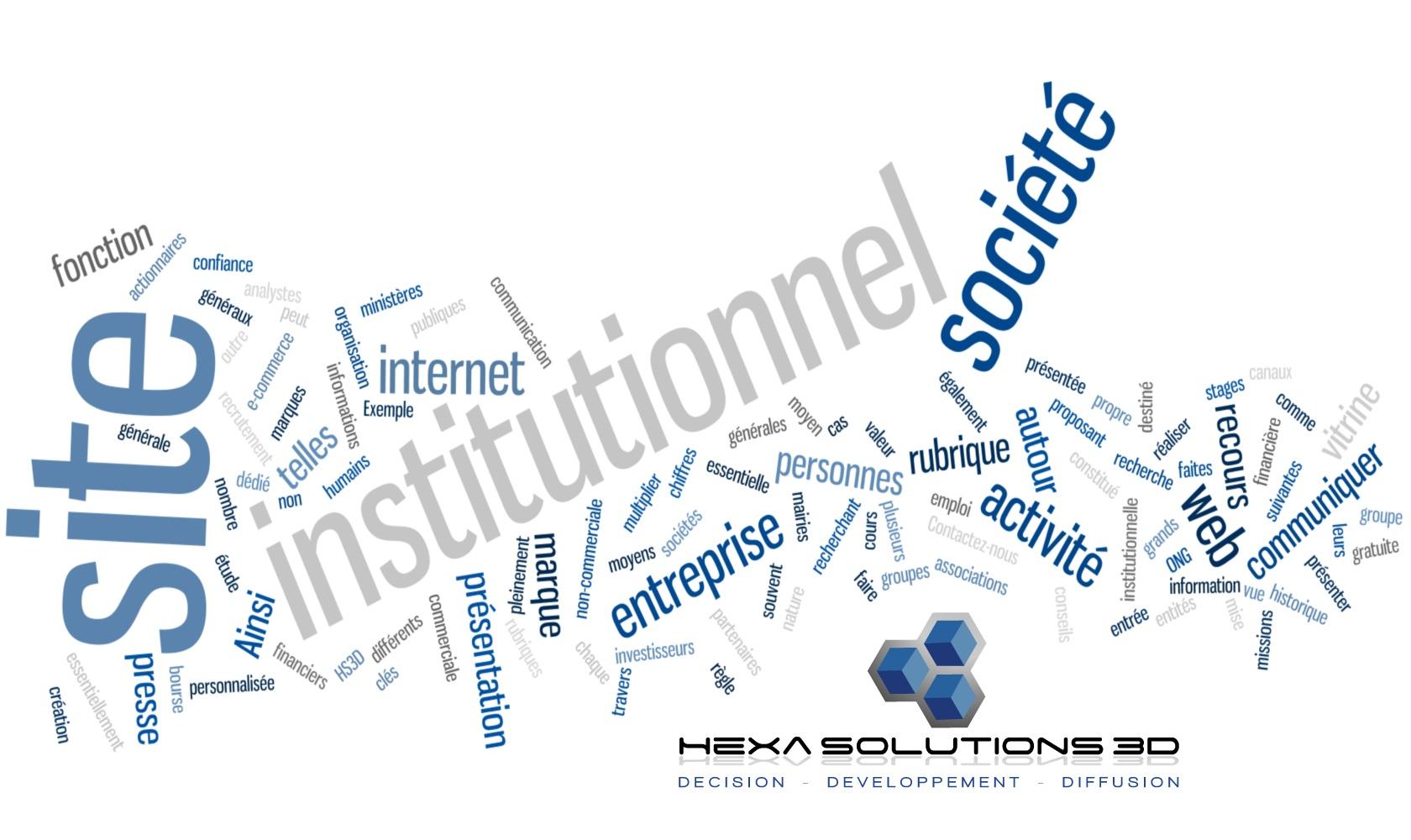Créer un Site institutionnel