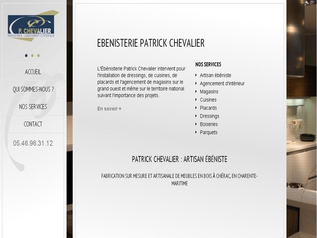 Patrick Chevalier - Ebéniste
