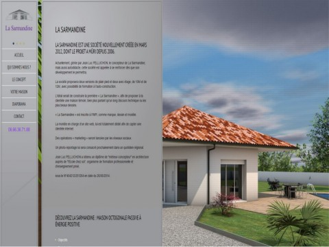 La Sarmandine - Architecture - Maisons octogonales