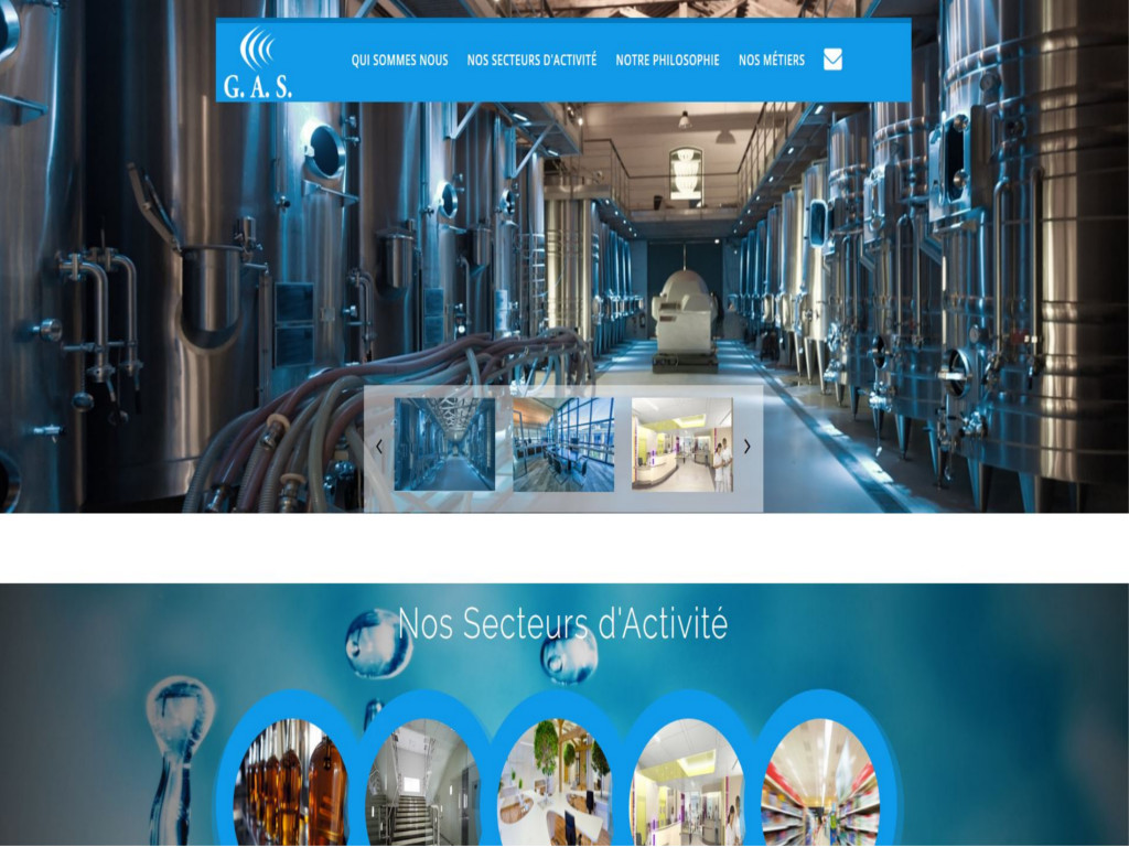 Société GAS : Nettoyage locaux / Nettoyage industriel