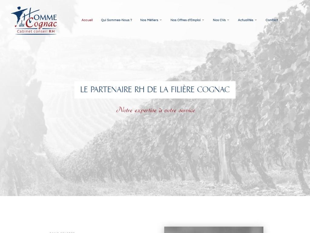 Homme du Cognac, Cabinet de recrutement, Conseils RH