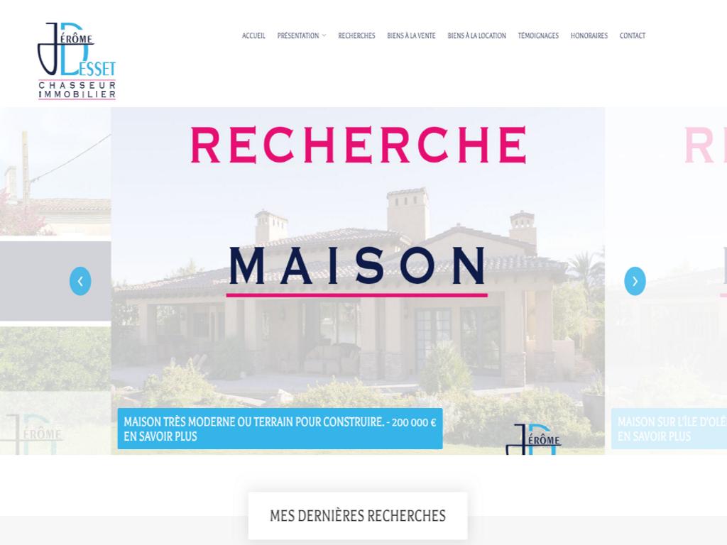Jérôme Desset - Chasseur immobilier