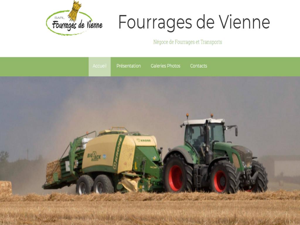 Fourrages de Vienne - Négoce et transport